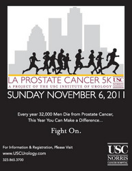 graphic of prostate cancer poster